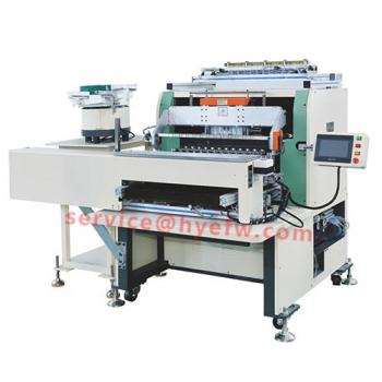 HY-R1005 vibrating plate feeding automatic winding machine